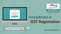 Amendment in GST Registration